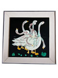 Tile Painting - Gooses