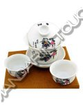 Porcelain Tea Set - Chinese Kid