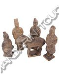 Miniature Qin Terracotta Figures