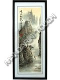 Framed Painting - Sanxia Scenery