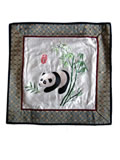 Silk Embroidery Mat - Panda