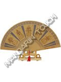 Sandalwood Folding Fan