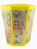 Hexagonal Brocade Container