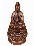 Zisha Incense Burner - Guan Yin