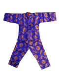 Boy's Long-Sleeved Dragon and Phoenix Mandarin Suit