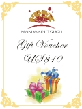 Mandarin Touch Gift Voucher US$10