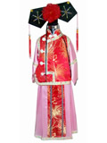 Girl's Qing Palace Qipao with Headgear