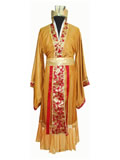 Han Emperor Casual Dress with Crown