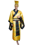 Han Emperor Court Dress with Crown