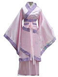 Women's Long Cotton Linen Hanfu
