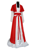Women's Long Cotton Hanfu with Outer Coat