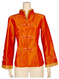 Bargain Item - Plain Color Mandarin Jacket