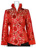 Megranate Flower Mandarin Jacket
