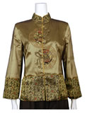 Chinese Poem Mandarin Jacket