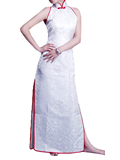 Cut-in Shoulders Cheongsam
