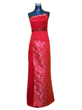 Single Strap Cheongsam