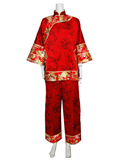 Pink Peony Fengxian Pants Suit