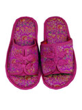 Chinese Floral Brocade Slippers