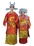 [CXF-X003] Tang Dynasty Royal Wedding Dresses for Couples